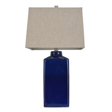 "26.5"" H Table Lamp with Rectangular Shade"