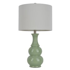 "26.5"" H Table Lamp with Drum Shade"