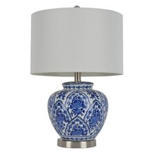 "20"" H Table Lamp with Drum Shade"