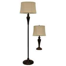"60"" Floor Lamp with Table Lamp"