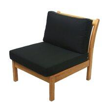 Kamea Sectional Deep Seating Armless Chair with Cushion