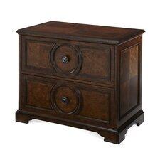 Bella Cera 2-Drawer  Filing Cabinet