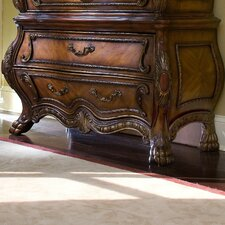 Chateau Beauvais 2 Drawer Gentleman's Chest Base