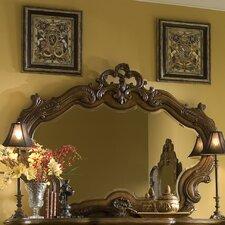 Palais Royale Gold Leaf Sideboard Mirror