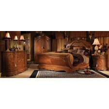 Cortina Sleigh Customizable Bedroom Set