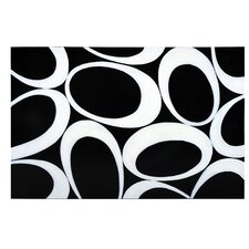 Ikon Black Olives Painting Print on Canvas in Black