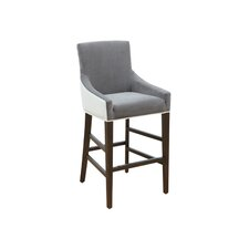 "5West Vincent 26"" Bar Stool with Cushion"