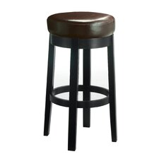 "5West Cedric 30"" Swivel Bar Stool with Cushion"