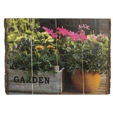 Bark Edge Panel Country Garden Photographic Print