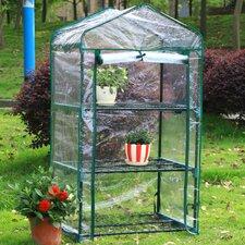 3 Tier 1.5 Ft. W x 2.5 Ft. D Growing Rack Greenhouse