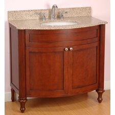 "Doral 36"" Single Bowl Bathroom Vanity Set"