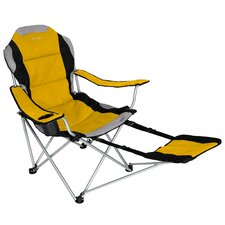 Sportline Xl Quad-Fold Chair with Footrest