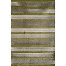 Sonoma Green/Light Blue Tomkin Striped Rug
