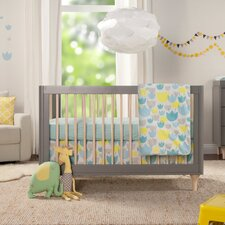 Tulip Garden 6 Piece Crib Bedding Set