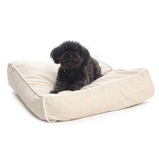 Engineer Stripe Square Dog Pillow