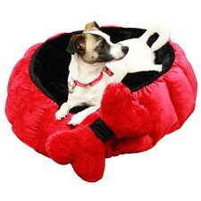 Cuddler Velvet Royal Nest Dog Bed