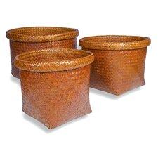 Tembaga Square Basket 3 Piece Set
