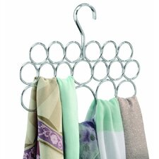 Hanging 18 Loop Scarf Holder