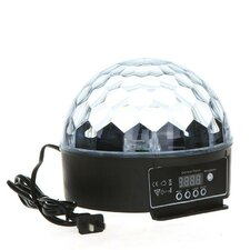 "Crystal Magic Ball 10"" Table Lamp with Globe Shade"