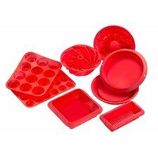 Sorbus Silicone 8 Piece Mold Set
