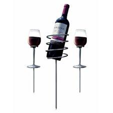 3 Piece Wine Stake Set