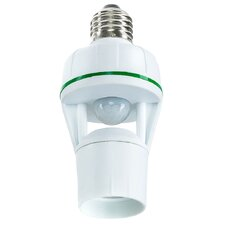 Motion Activated 360 Light Socket with LED Concept