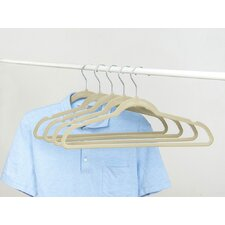 Sorbus® Non-Slip Velvet Clothes Hangers with Notched