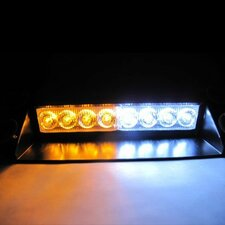 Warning Caution Van Truck 8-LED Emergency Strobe Light Lamp Bar