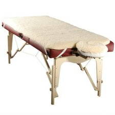 Fleece Massage Table Pad Sheet and Face Rest Cover Set