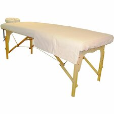 Flannel Massage Table and Face Cover Set