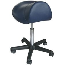 Pneumatic Hydraulic Adjustable Rolling Saddle Massage Stool