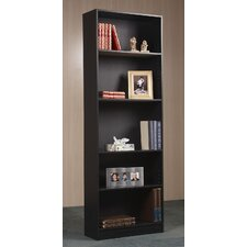 "5 Shelf 71.5"" Standard Bookcase"