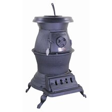 Railroad Potbelly 1,500 Square Foot Wood/Coal Stove