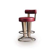 "Saturne 26"" Swivel Bar Stool with Cushion"
