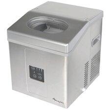"""19"""" 30 lb. Portable Ice Maker in Silver"""