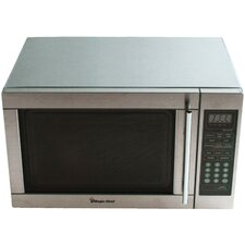 1.3 Cu. Ft. 1100W  Countertop Microwave in Stainless Steel