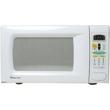 1.3 Cu. Ft. 1100W  Countertop Microwave in White