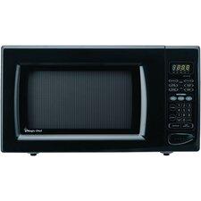 1.6 Cu. Ft 1100W Countertop Microwave in Black