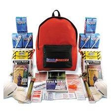 2 Person Grab N' Go Emergency Backpack Kit