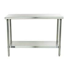 EcoStorage Stainless Steel Top Workbench