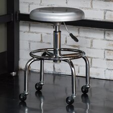 "28"" Aluminum Work Stool"
