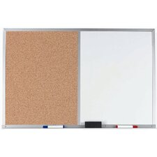 Combination Wall Mounted Bulletin Board