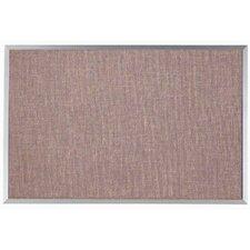 Designer Fabric Wall Mounted Bulletin Board, 2' x 3'