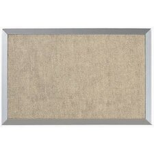 Burlap Weave Wall Mounted Bulletin Board