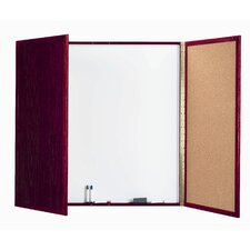 Cabinet Enclosed Magnetic Whiteboard