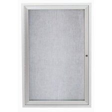 Outdoor Illuminated Enclosed Wall Mounted Bulleting Board