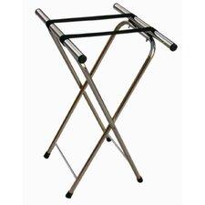 Chrome Folding Luggage Stand