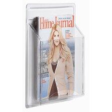 Clear-Vu 1 Pocket Magazine and Literature Display