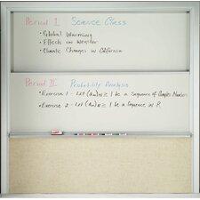 Combination Wall Mounted Whiteboard