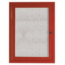 Outdoor Enclosed Wall Mounted Bulletin Board